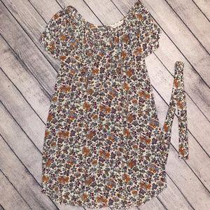 Rebecca Taylor Women's Dress, Size 10, Tan Floral